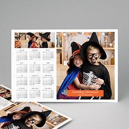 Kalender jaaroverzicht - Transformer kalender - 1