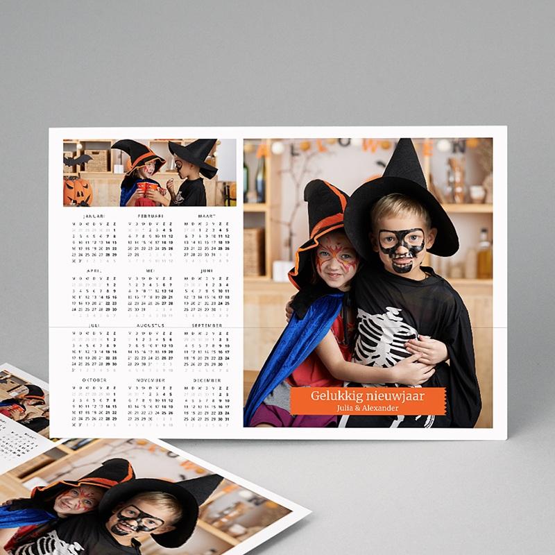 Kalender jaaroverzicht Transformer kalender