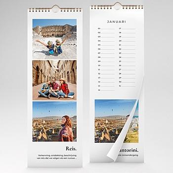 Eeuwigdurende Kalender 2020 - Reiskalender - 1