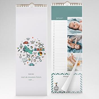 Eeuwigdurende Kalender 2020 - kleine jongen - 1