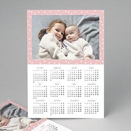 Kalender jaaroverzicht - Bloemenkalender 2 - 1