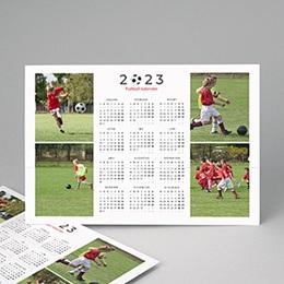 Kalender jaaroverzicht - Voetbalkalender - 1