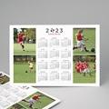 Kalender jaaroverzicht - Voetbalkalender 23383 thumb