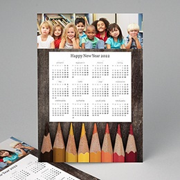 Professionele kalender - Kleurpotloden - 1