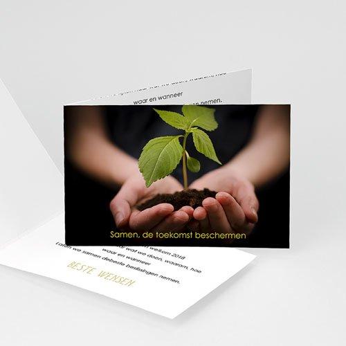 Professionele wenskaarten - Wie toekomst zaait 23454 thumb