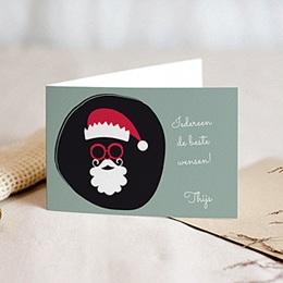 Wenskaarten Kerst Verkleedkaart