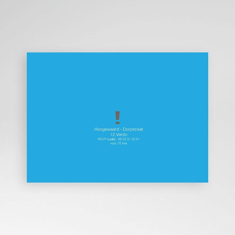 Verjaardagskaarten volwassenen - 50 jaar in blauw 23622 thumb