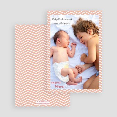 Bedankkaartje geboorte zoon Grote broer gratuit