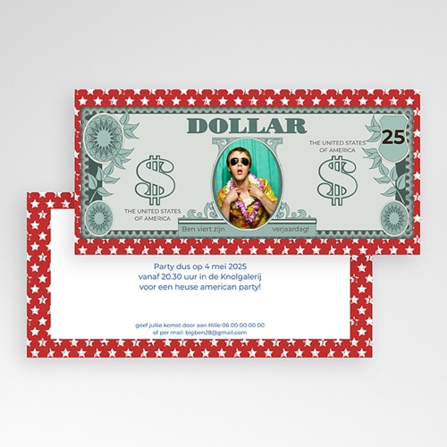 Verjaardagskaarten volwassenen - Amerikaanse dollar 23653 thumb