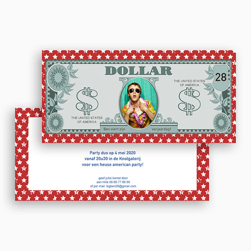 Verjaardagskaarten volwassenen - Amerikaanse dollar 23654 thumb