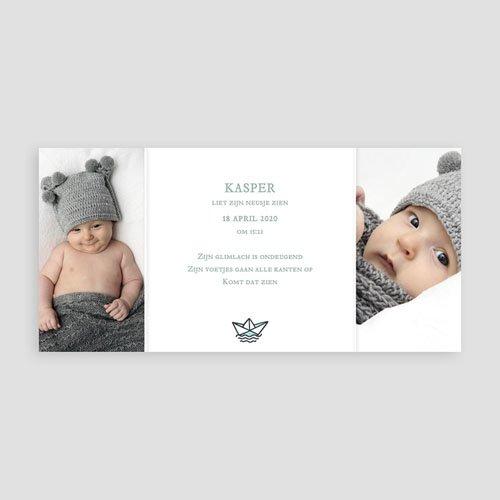 Geboortekaartje jongen - Jongens schatkamer 23680 preview