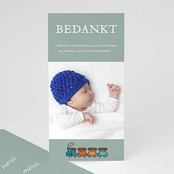 Bedankkaartje geboorte zoon - Jongens schatkamer - 1