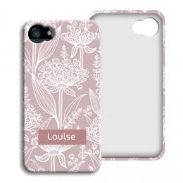Smartphone case bedrukken - Vintage bloemen - 1