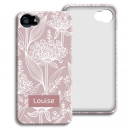 Case iPhone 5/5S - Vintage bloemen - 1