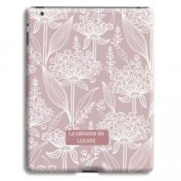 Case iPad 2 - Vintage bloemen - 1