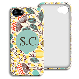Case iPhone 5/5S - Bloemen case - 1
