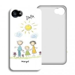 Smartphone case bedrukken - Scribble - 1