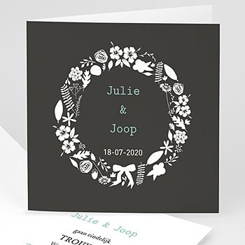 Vintage trouwkaarten - Save je date - 1