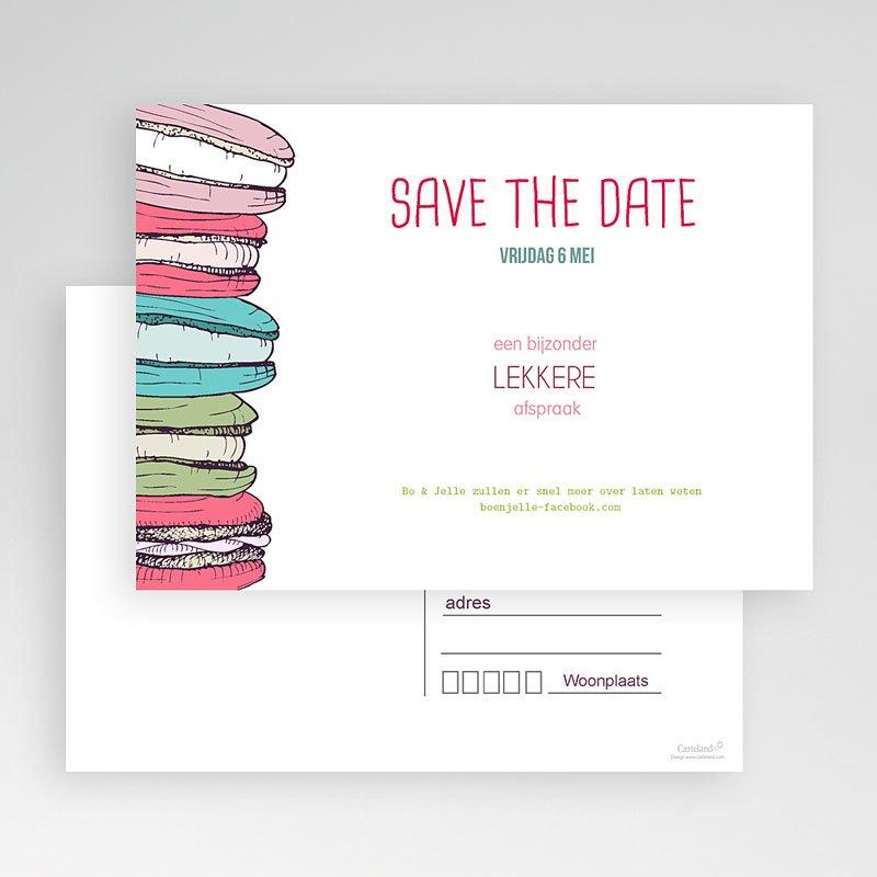 Save the date kaartjes - Lekker zoet 24158 thumb
