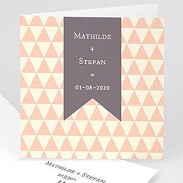Personaliseerbare trouwkaarten - Dat is duidelijk - 1