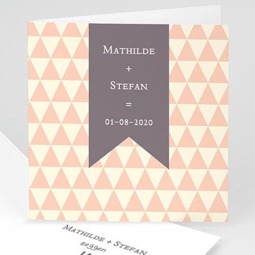 Personaliseerbare trouwkaarten - Dat is duidelijk 24252 thumb