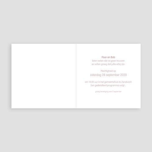 Vintage trouwkaarten - Op de fiets naar liefde 24271 preview