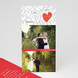 Bedankkaartjes huwelijk - Hartjesdief - 1