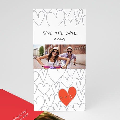 Save the date kaartjes Hartjesdief