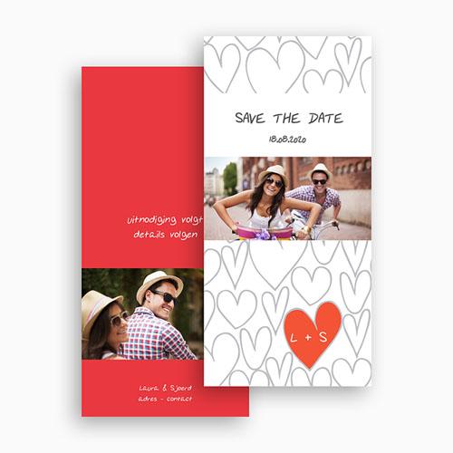 Save the date kaartjes Hartjesdief gratuit