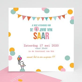 Verjaardagskaarten jongens - confettifeest - 1