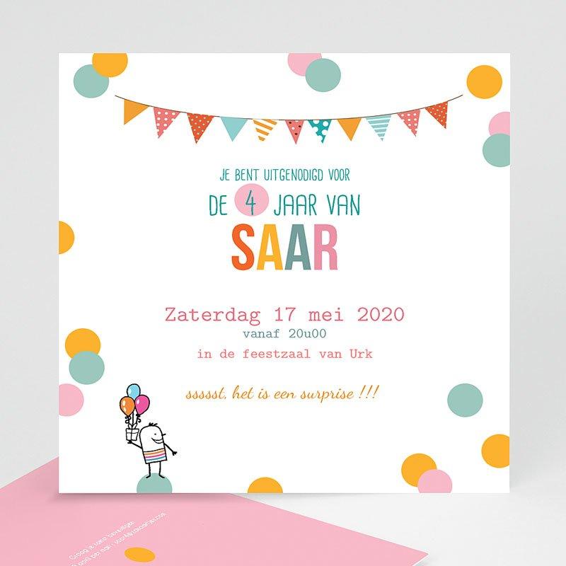 Verjaardagskaarten jongens - confettifeest 24502 thumb