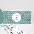 Personaliseerbare trouwkaarten - Bioscoopkaartje 24669 thumb