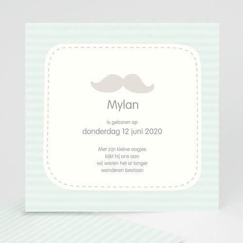 Geboortekaartje jongen Mylan
