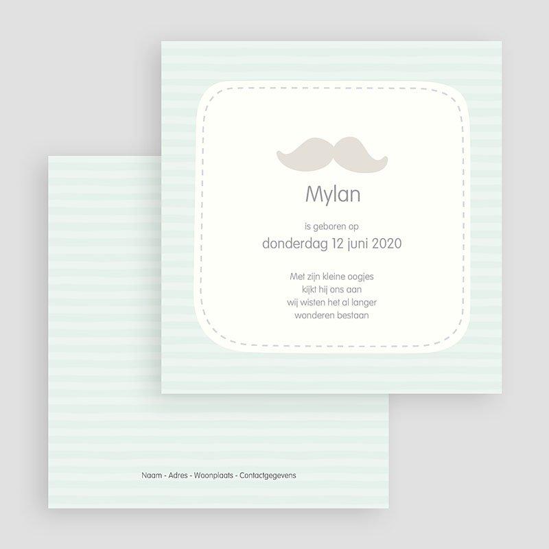 Geboortekaartje jongen Mylan gratuit