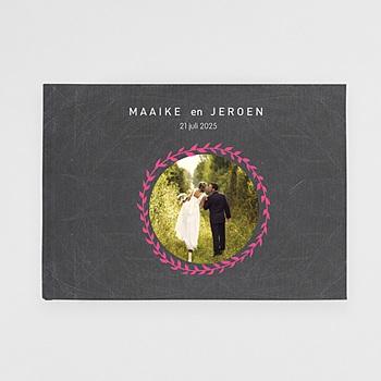 Panoramafotoboeken A4 Liggend Formaat - Mariage Ardoise - 1