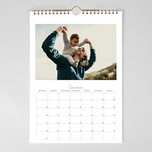 Personaliseerbare kalenders 2019 - Dagvakje 34840 thumb