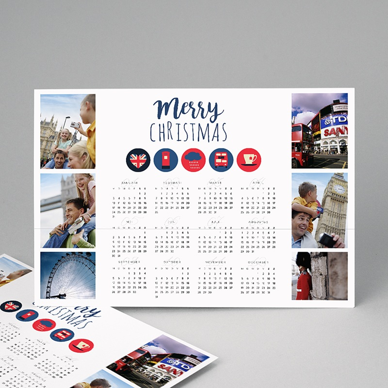 Kalender jaaroverzicht London
