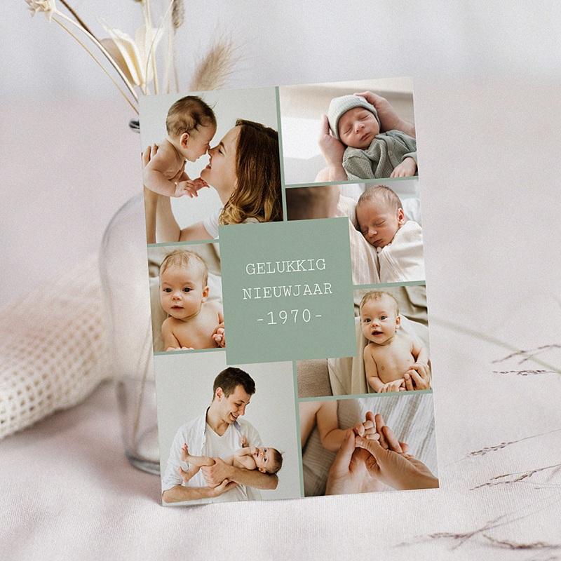 Kerstkaarten 2019 - Nieuwjaarskaart collage 35143 thumb