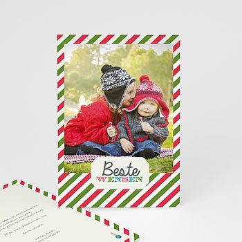 Kerstkaarten 2019 - Wensen polaroid - 1