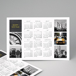 Kalender jaaroverzicht - Autour du monde - 1