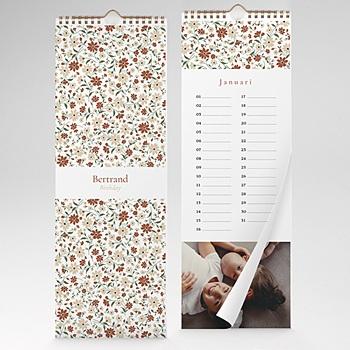 Eeuwigdurende Kalender 2020 - duizend bloemen - 1