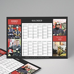 Professionele kalender - Pro Fond Noir - 1