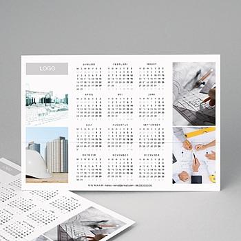 Professionele kalender - Pro Blanc - 1