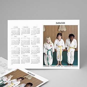 Kalender voor bedrijven 2020 - Blanc et Pro - 1