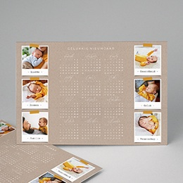 Kalender jaaroverzicht - Collage kalender - 1
