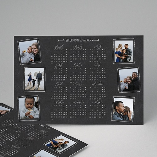 Kalender jaaroverzicht - Schoolbord  35350 thumb