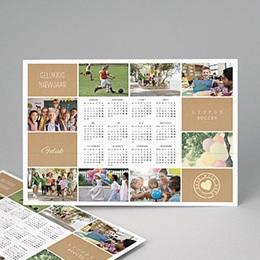 Kalender jaaroverzicht Diavoorstelling