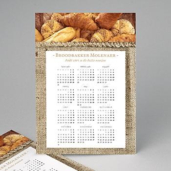 Kalender voor bedrijven - Gebakken nieuwjaar - 1