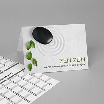 Zakkalender 2020 - Année Zen - 1