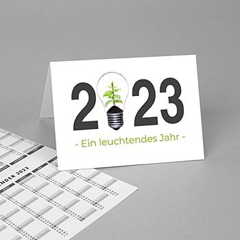 Zakkalender - Groen idee - 1
